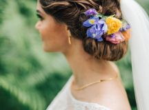 Girls with Curls: Bridal Hair Inspiration images 4