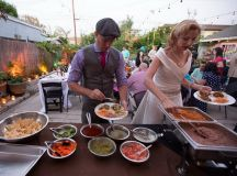 wedding-food-station