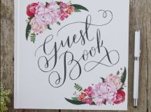 13 Gorgeous Wedding Guest Books You Can Pick Up Now! images 2