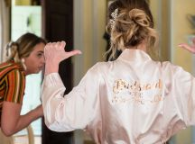 Pretty in Pink: An Effortlessly Beautiful Fairytale Wedding images 19