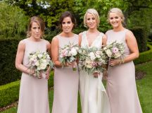 Pretty in Pink: An Effortlessly Beautiful Fairytale Wedding images 23