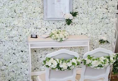 Where to Source A Flower Wall for Your Big Day