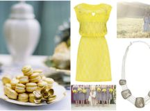 Colour Palette: Yellow & Grey | weddingsonline