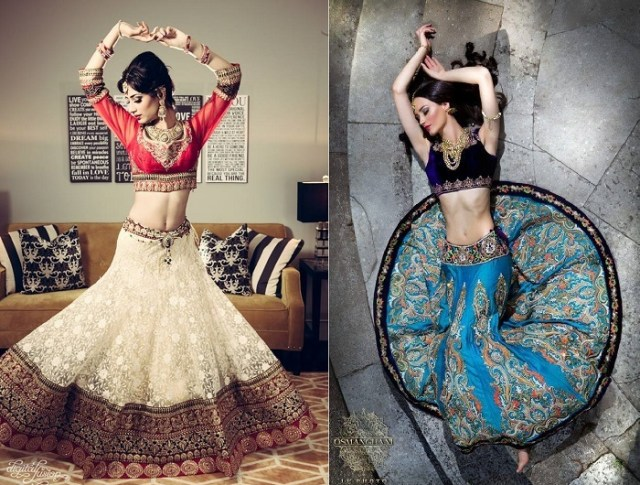 Indian Wedding Dresses: Unconventional & Non-Traditional Colour ...