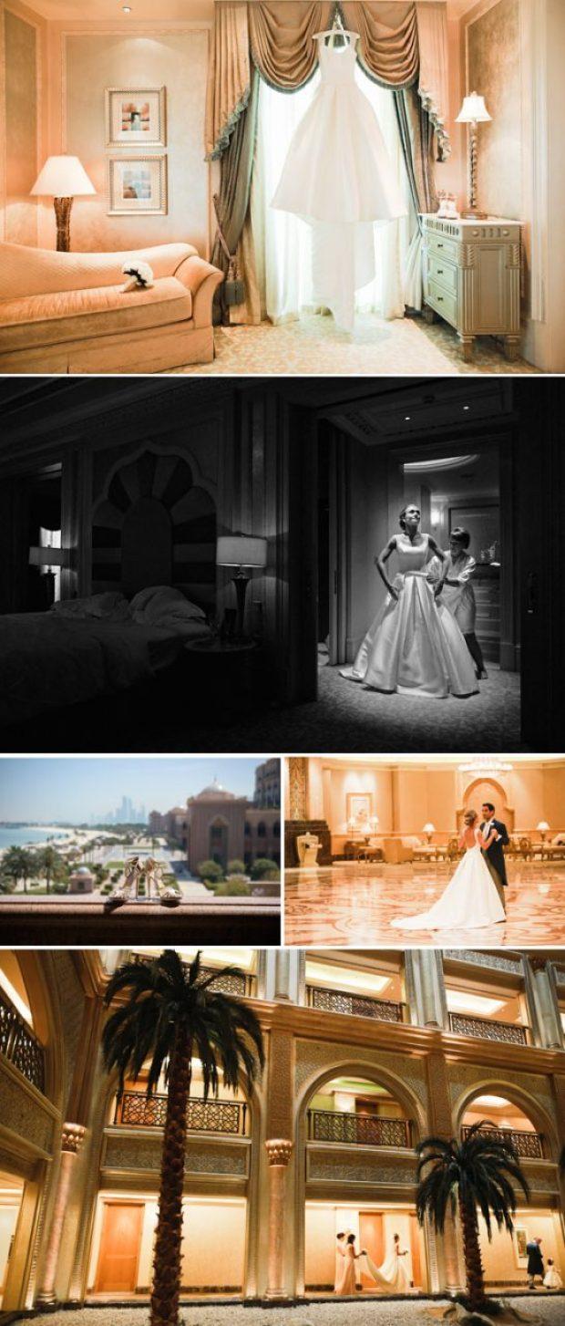 Emirates Palace Hotel, Abu Dhabi wedding