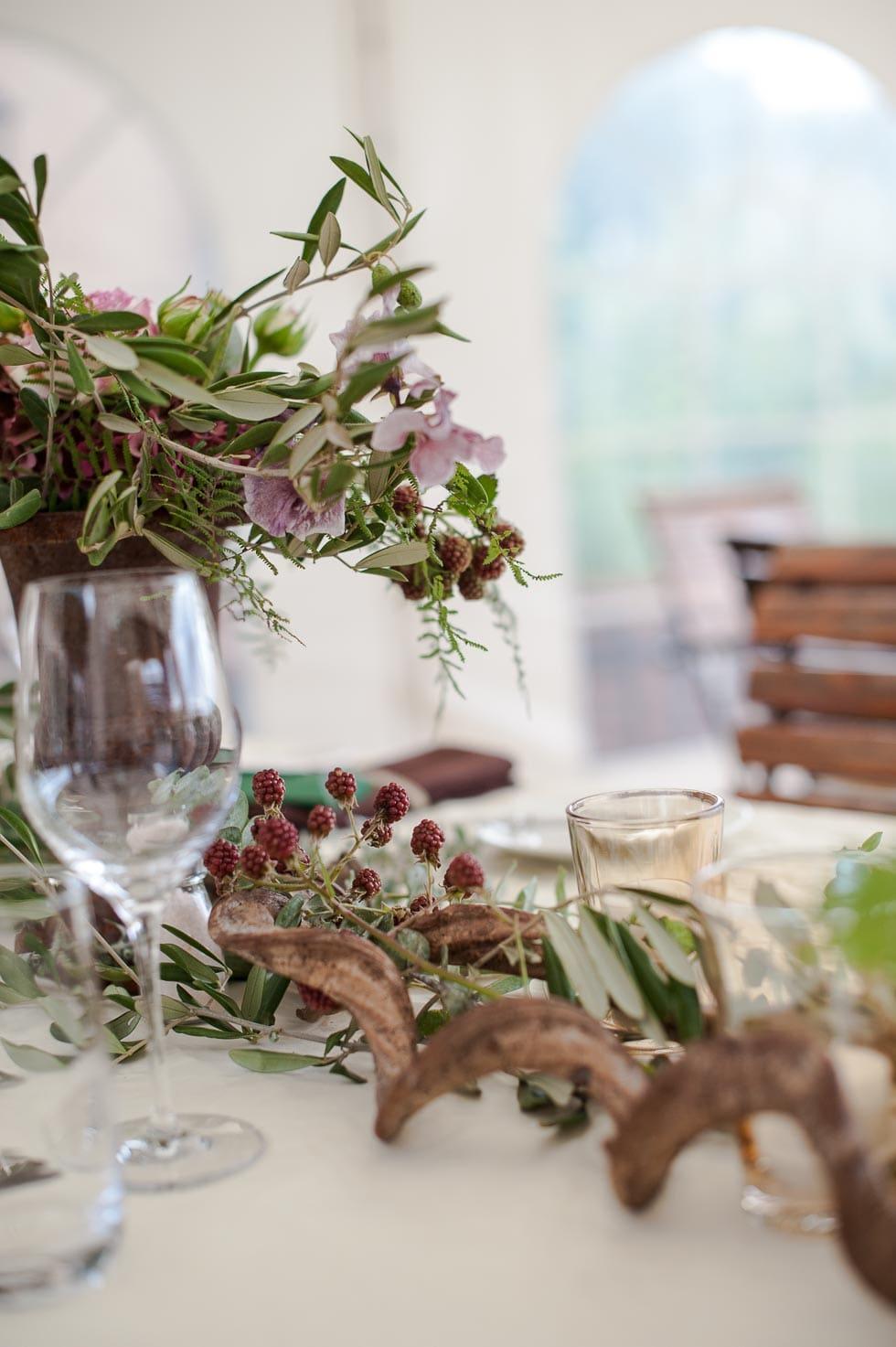 Dekokonzept ganz natrlich  weddingstyle Hochzeitsblog