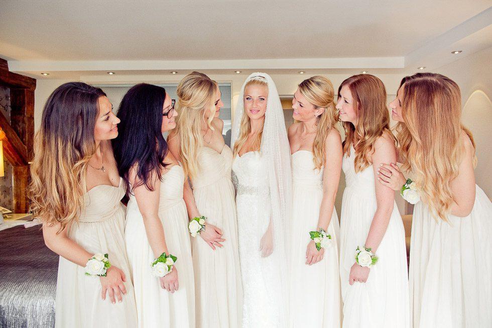 Brautjungfern Die Begleiterinnen der Braut  weddingstyle