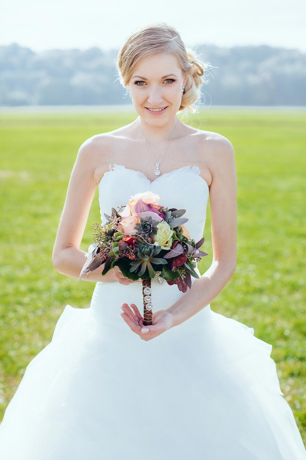Traumhochzeit in Herbstfarben  weddingstyle Hochzeitsblog