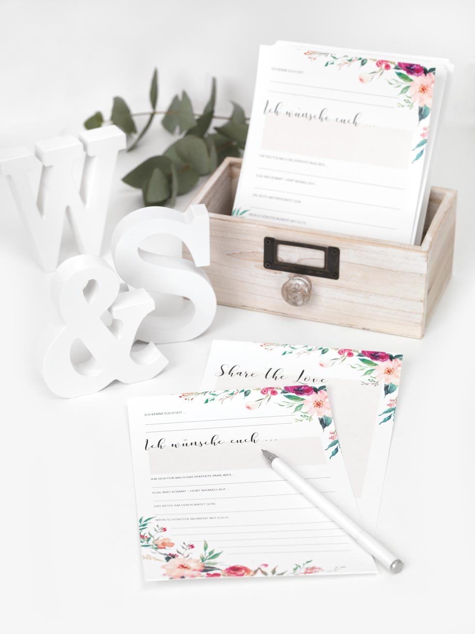 Gstebuch Karten fr eure Hochzeit