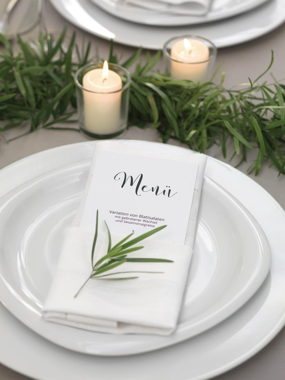 Menkarte  Hochzeit planen mit weddingstyle