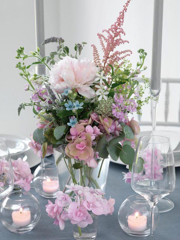 Tischdekoration fr die Hochzeit  ber 250 Inspirationen