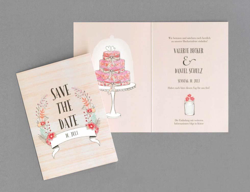 Save the Date zur Hochzeit  Texte und Ideen