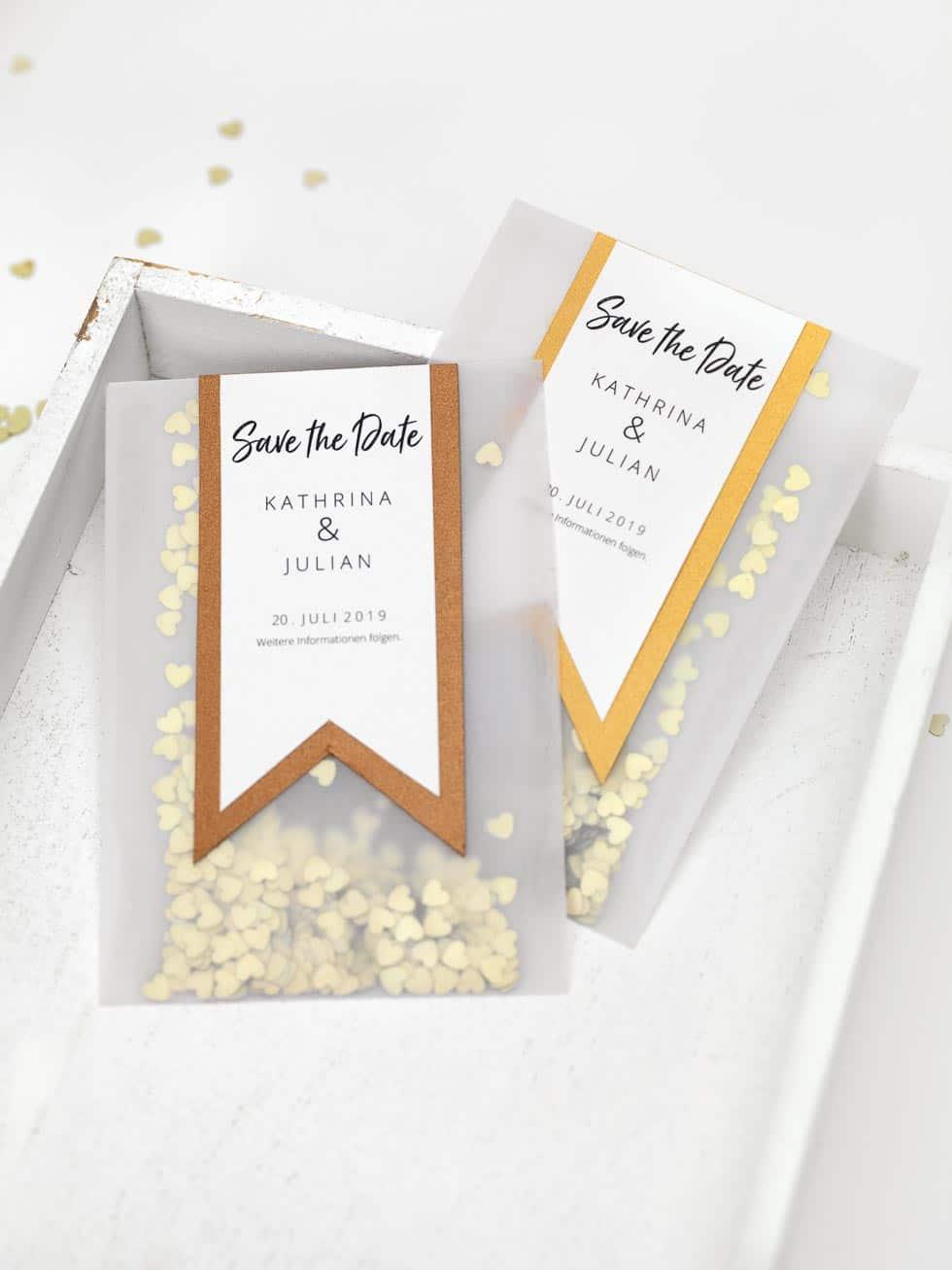 15 SavetheDate DIYVorlagen fr eure Hochzeit