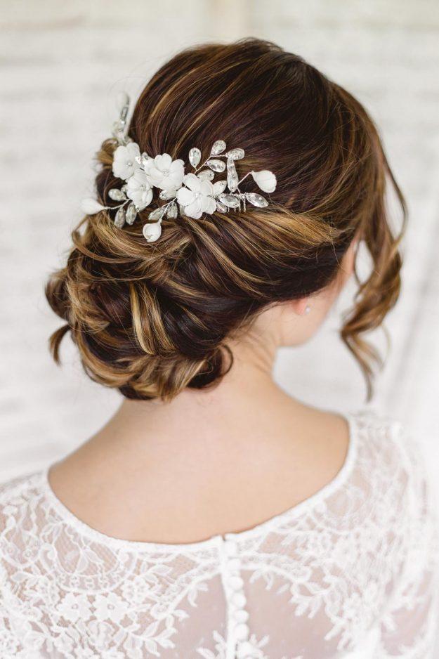 Haarschmuck fr die Brautfrisur 100 Ideen und Inspirationen