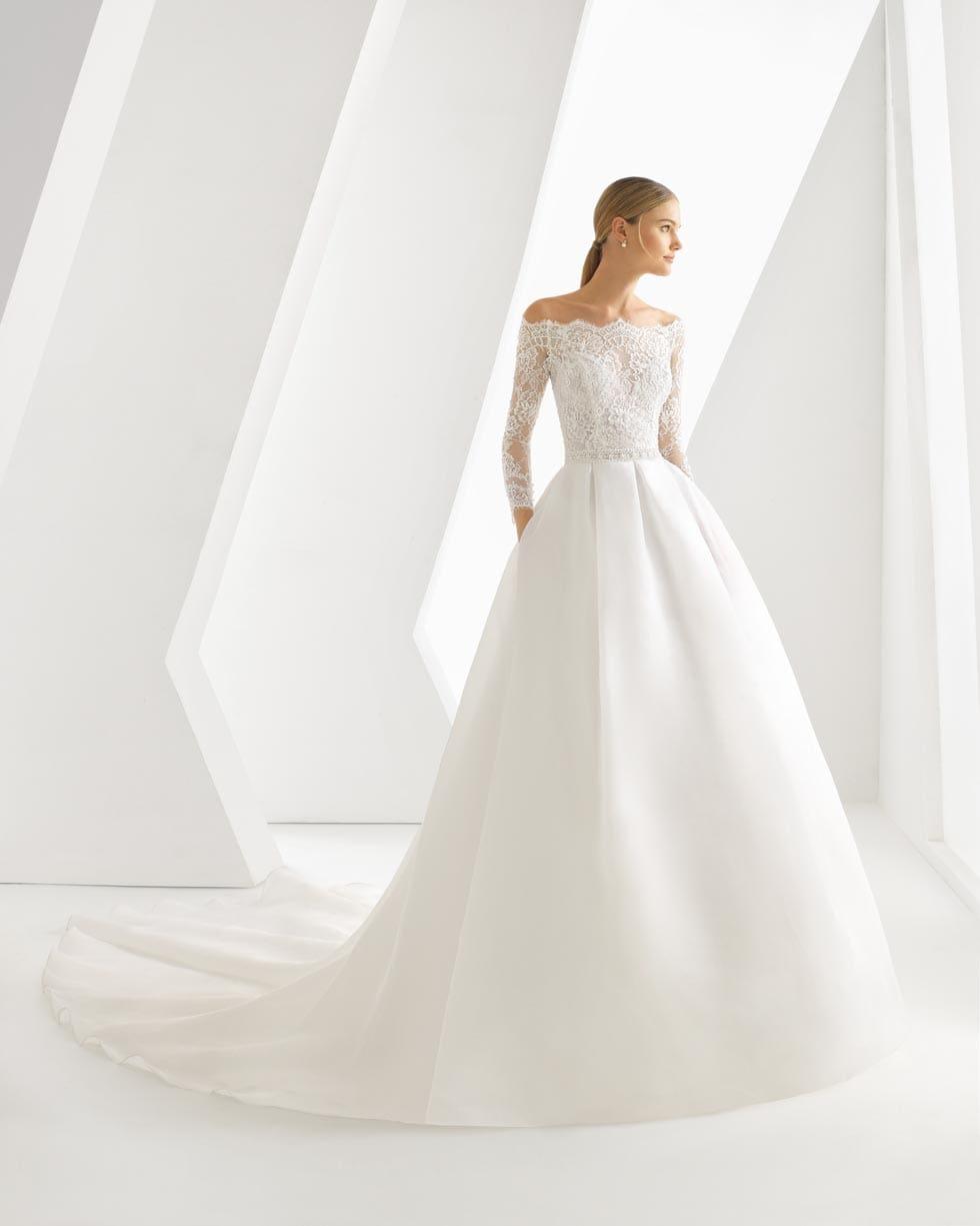 Rosa Clar Brautkleider  die schnsten Modelle