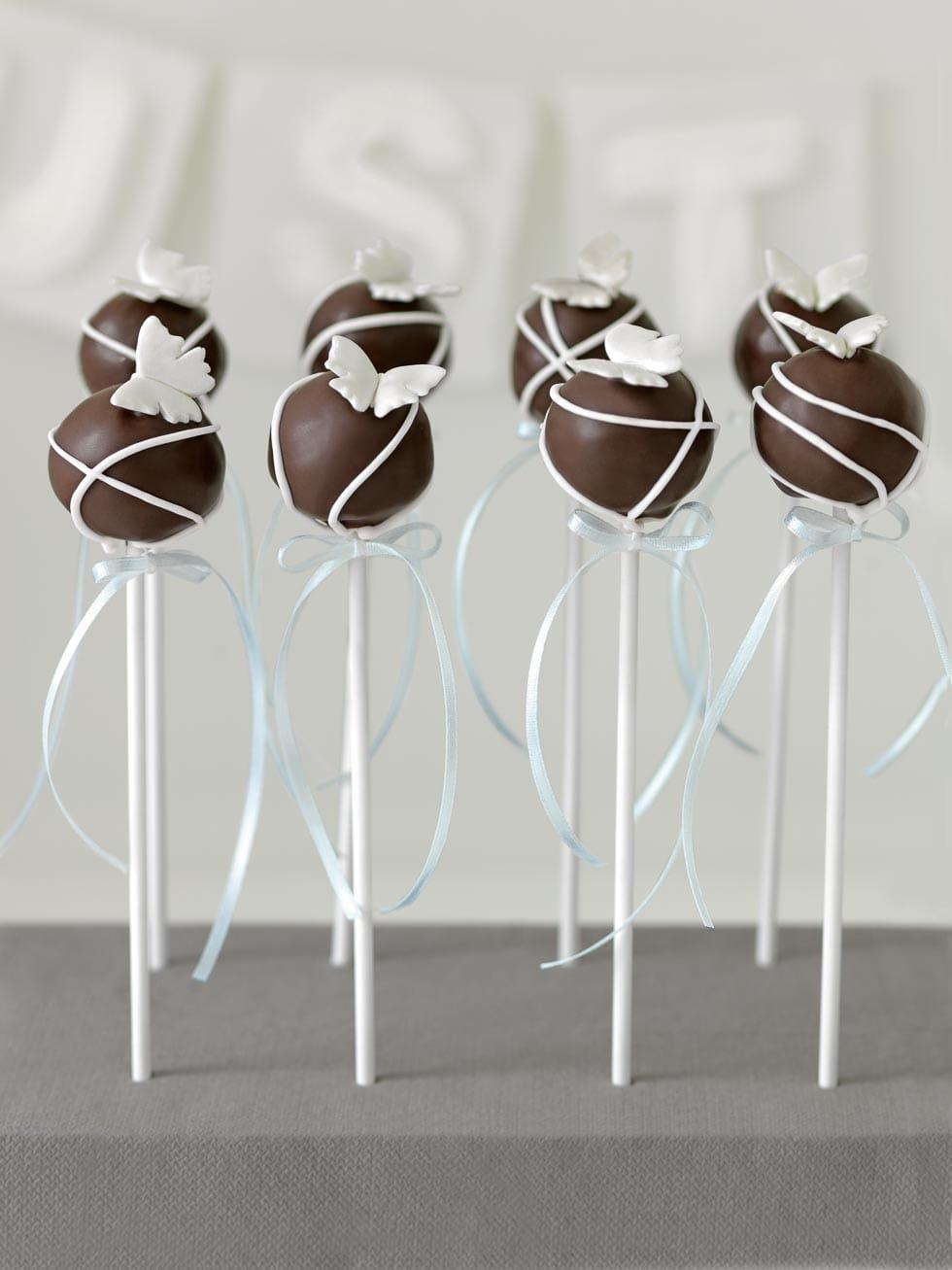 Cake Pops dekorieren Die schnsten Ideen zur Hochzeit