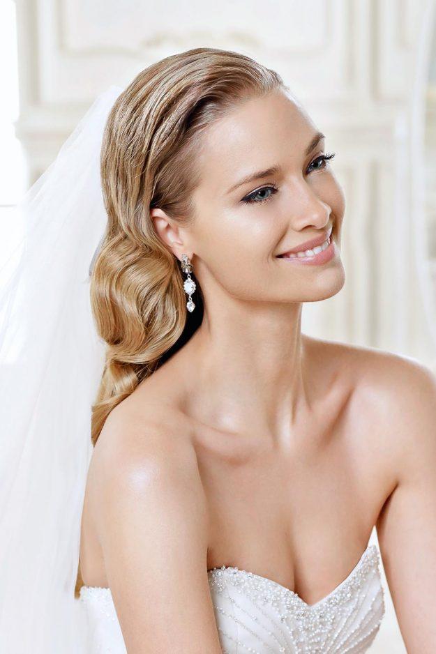 Galerie 90 Brautfrisuren fr offen und halboffenes Haar