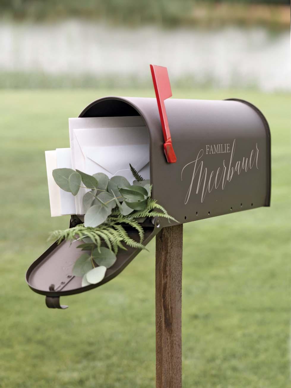 Geldgeschenke Briefkasten fr eure HochzeitsGeschenke