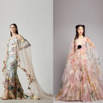 15+ dreamy designer dresses perfect for your pre-wedding shoot