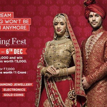 Bag the biggest offers this wedding season by shopping at Mumbai's biggest wedding festival – the R City Wedding Fest!