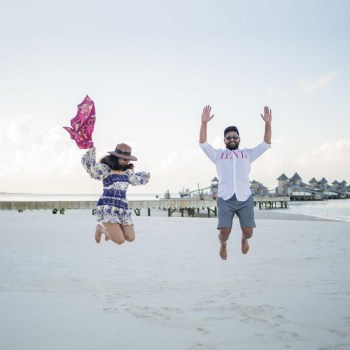 Suravi and Shubham, Maldives