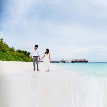 Shivani and Susheel, Maldives