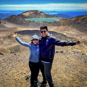 Trisha and Mayank, New Zealand