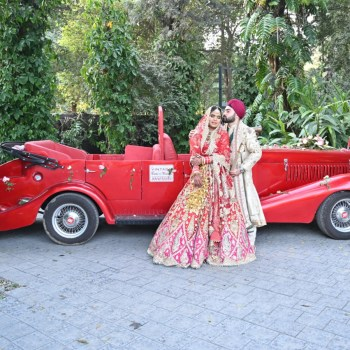 Go royal and make a bold entry on your wedding day with Vintage Cars by Varun Malhotra!