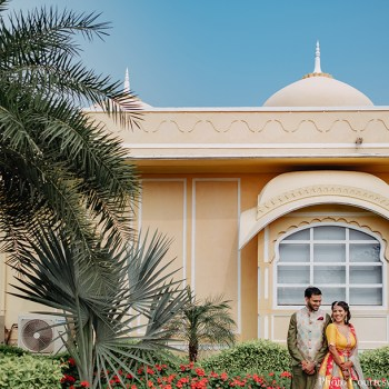 This couple hosted a royal wedding in Jaipur after registering their marriage in the US