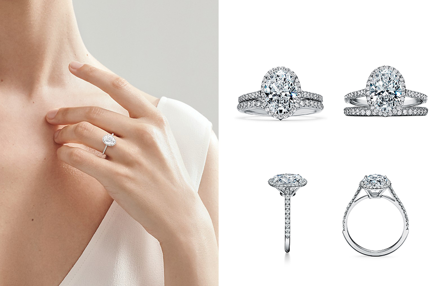 Oval-Cut Diamonds - Engagement Rings