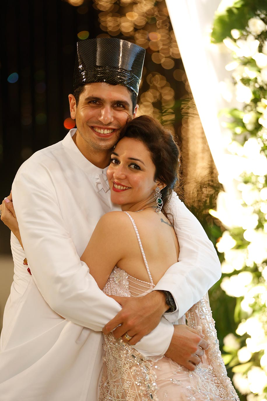 Nauheed Cyrusi and Rustom