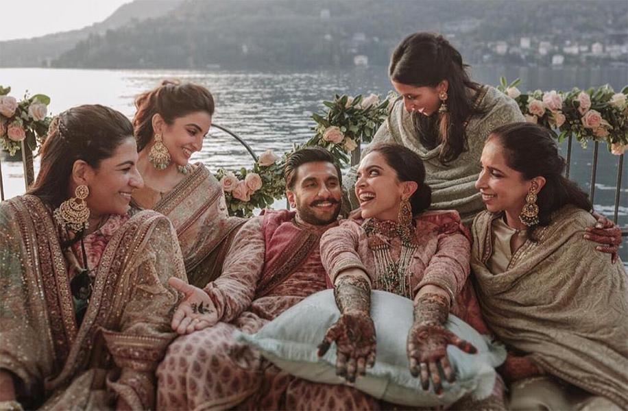 Ranveer Singh and Deepika Padukone, Italy