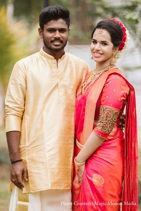 Sanju Samson and Charulatha, Trivandrum