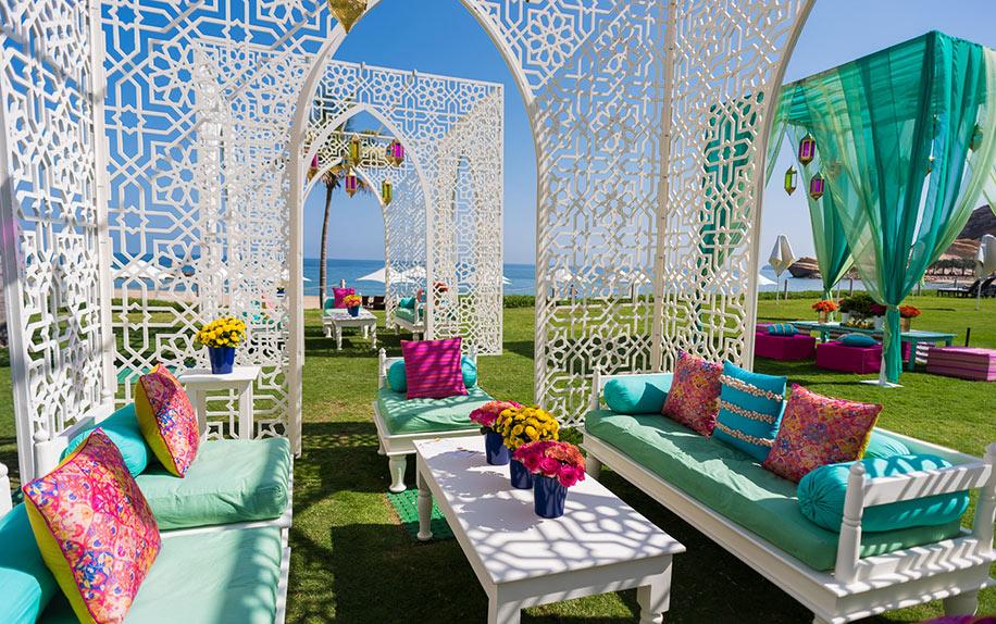 Anusha and Dhrumil, Shangri-La Barr Al Jissah Resort and Spa, Oman