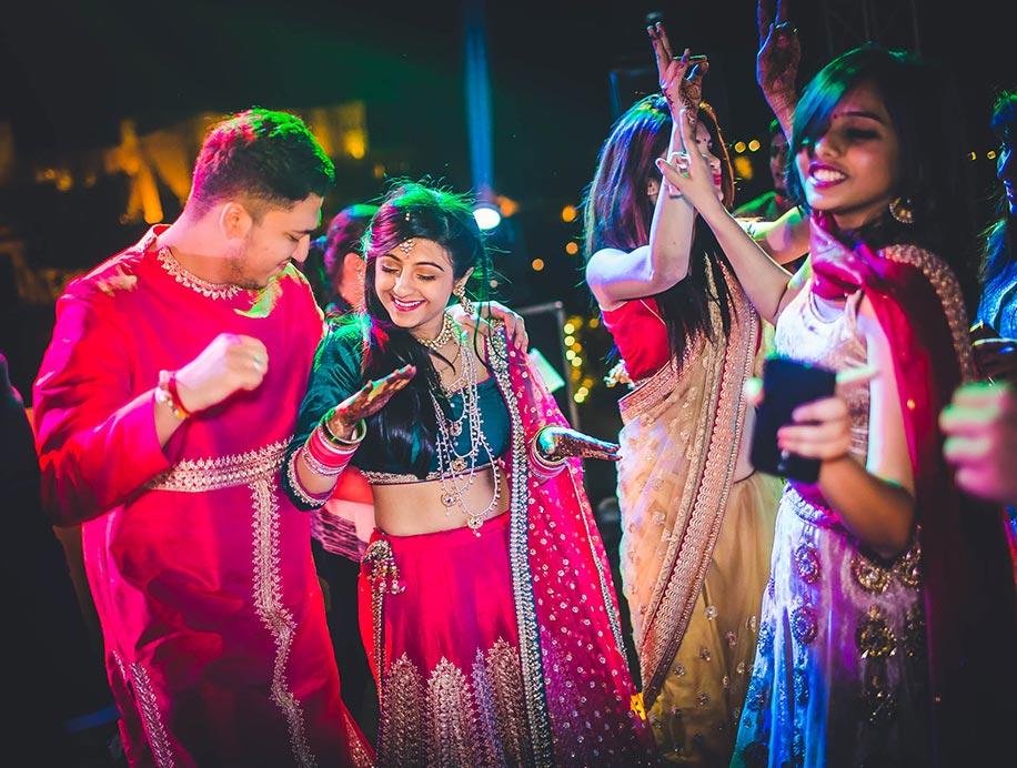 Deepika and Anuj, Suryagarh, Jaisalmer