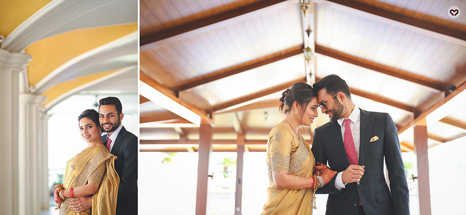 Garima and Sarfraz, Kenilworth Resort, Goa