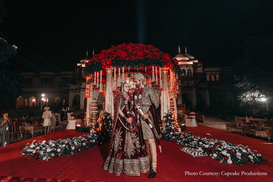 Irina and Dhruv, Taj Rambagh Palace, Jaipur