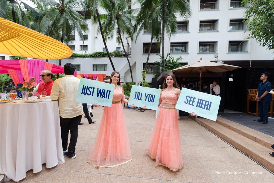 Sanjay and Karishma, Anantara Siam Bangkok Hotel, Thailand