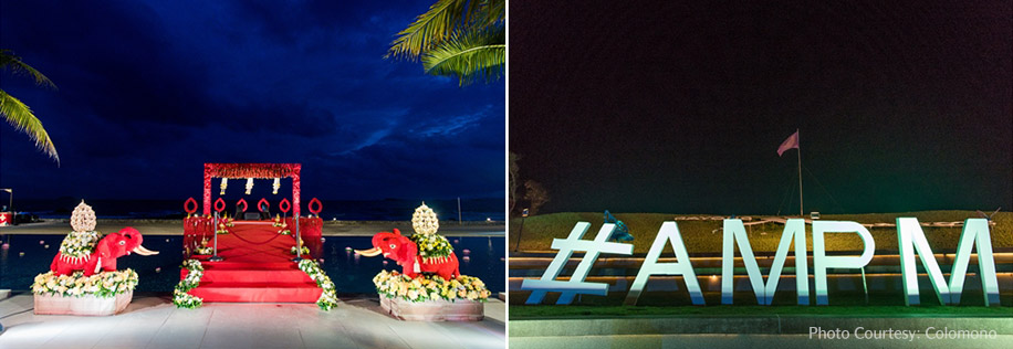 Pravina and Amrit, Rayong Marriott Resort & Spa, Thailand
