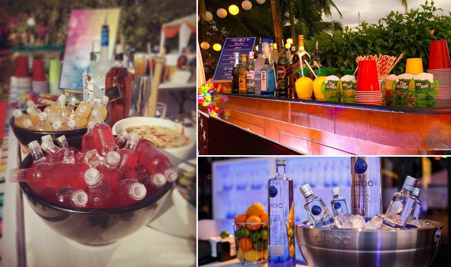 Beach Wedding Bar