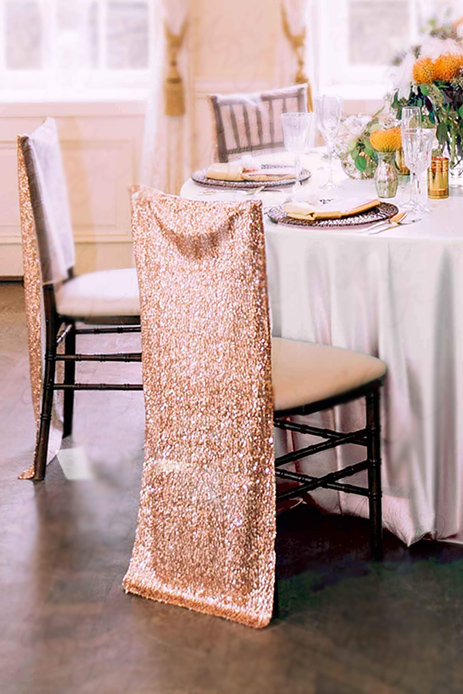 Glitter - Chair Covers/Sash