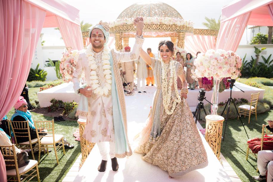 Natasha and Bhavesh, Monarch Beach Resort, California