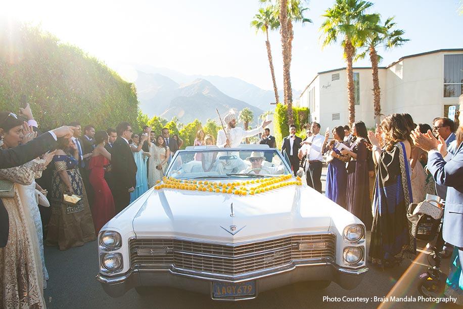 Salima and Vinny, Palm Springs, USA