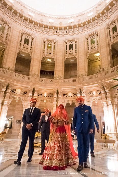 Akanksha and Sushant, Umaid Bhawan Palace, Jodhpur, Rajasthan - Wedding