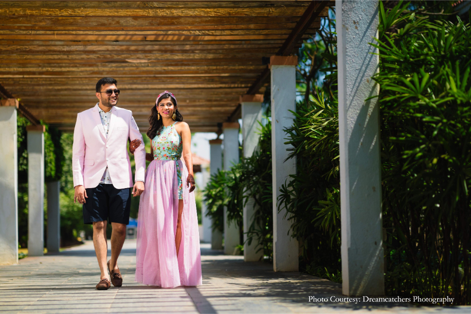 Ashti and Neel, Radisson Blu Resort & Spa, Alibaug