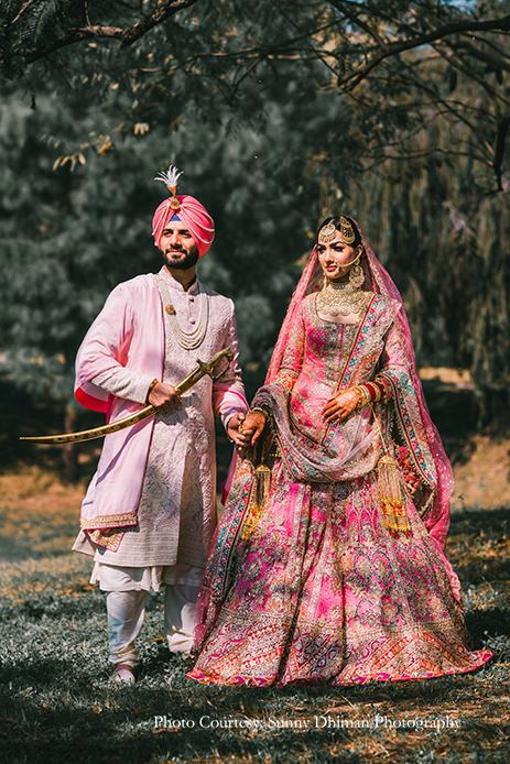 Davina and Nikhil, The Lalit, Chandigarh