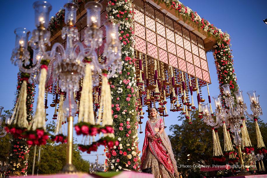 Bridal look for pheras