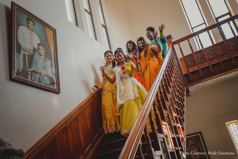Kalyani and Nirav, Lukshmi Villas Palace, Vadodara, Gujarat