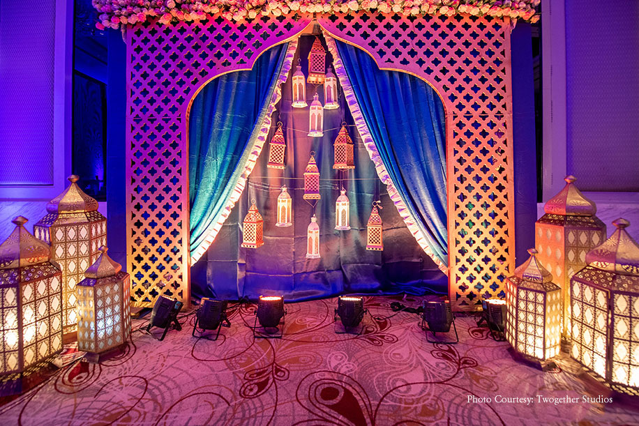 Kamakshi and Aakash, JW Marriott Jaipur Resort & Spa