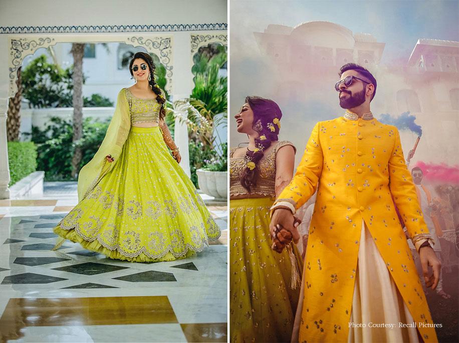 Mayuri and Ritesh, JW Marriott Jaipur Resort & Spa